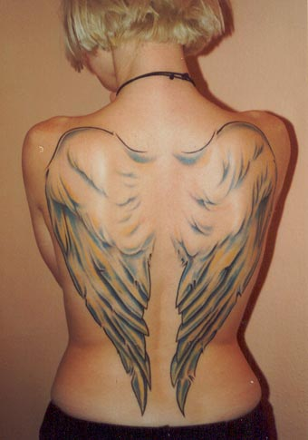 Galeria Tatuazy Tatuaze Skrzydła