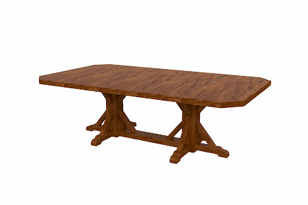Alexandria Conference Table in Caramel Cherry