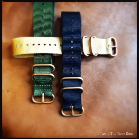 Crown and Buckle Bronze HD NATO Strap