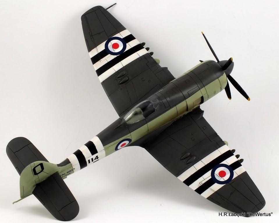 Korea 1950-53; Sea Fury FB.11, KITECH 1/48 DSCF3959