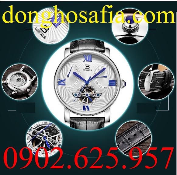 Đồng hồ nam cơ Binger B5019 BG008