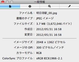 Picasa にアップロードした画像