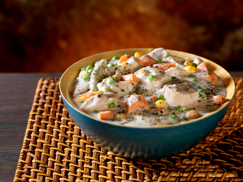 Chicken Pot Pie in a Bowl