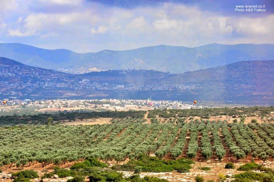 Галилея. Экскурсия с гидом по Израилю Светланой Фиалковой.