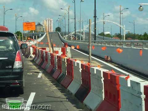 laluan bertingkat jambatan sultan yahya petra