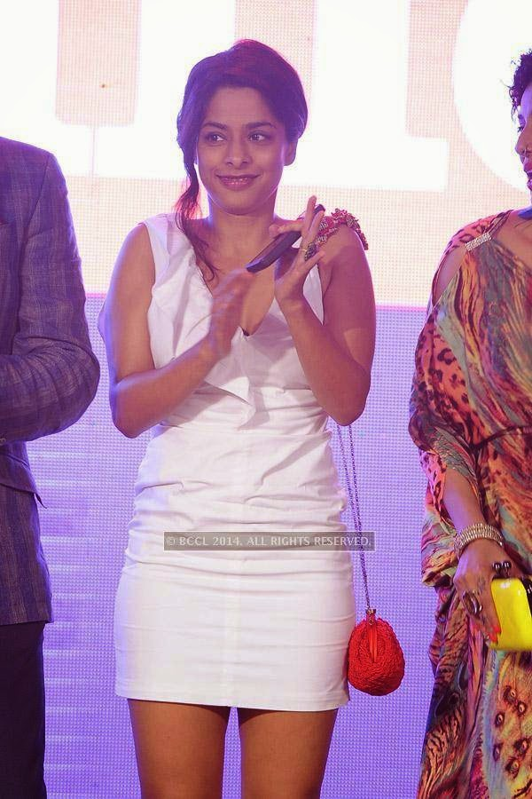 Sugandha Garg during the launch of FOX Traveller's new television channel FOX Life, in Mumbai, on July 16, 2014.