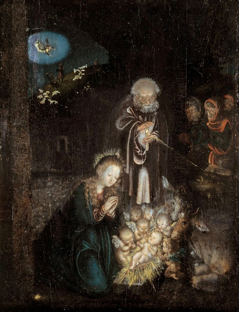 Lucas Cranach the Elder - The Nativity