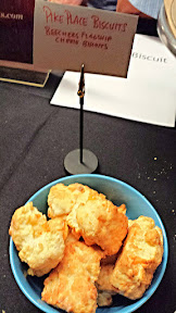 Pike Chocofest 2014, Honest Biscuits, Beecher's Flagship Cheese biscuits