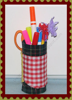Pencil Holder and Scissor Organizer