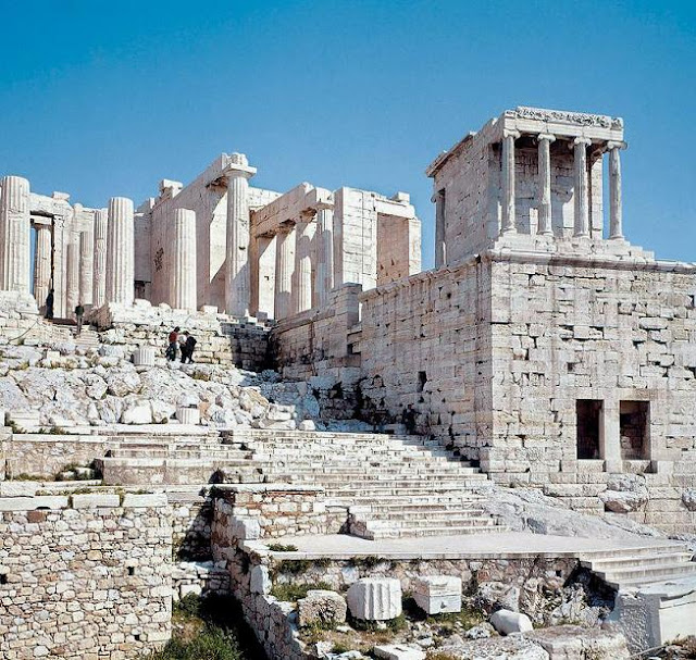 Algargos Arte E Historia El Templo De Atenea Nike Aptera En La