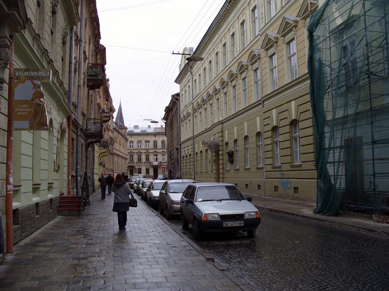Львов. Улица Павла Ковжуна