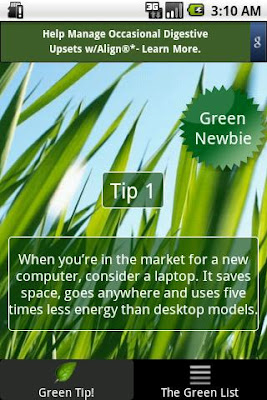 """Go Green apps"""