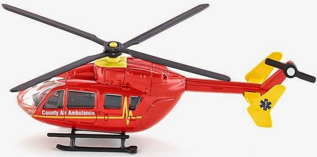 Máy bay trực thăng cứu thương Siku 1647 giống y như thật