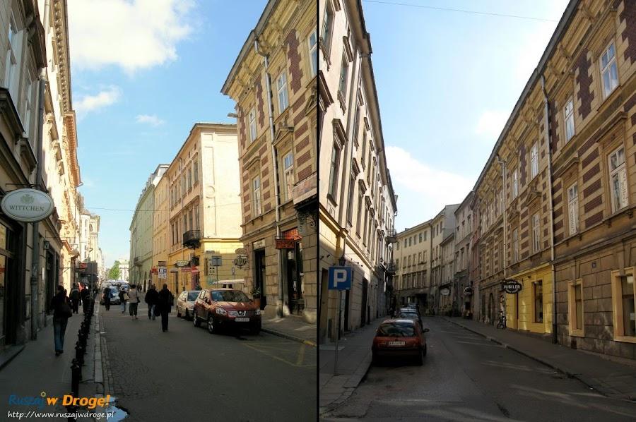 Kraków - uliczki i kamieniczki