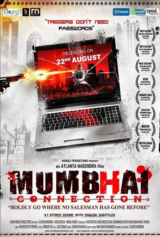 Poster Of Hindi Movie Mumbhai Connection (2014) Free Download Full New Hindi Movie Watch Online At Alldownloads4u.Com