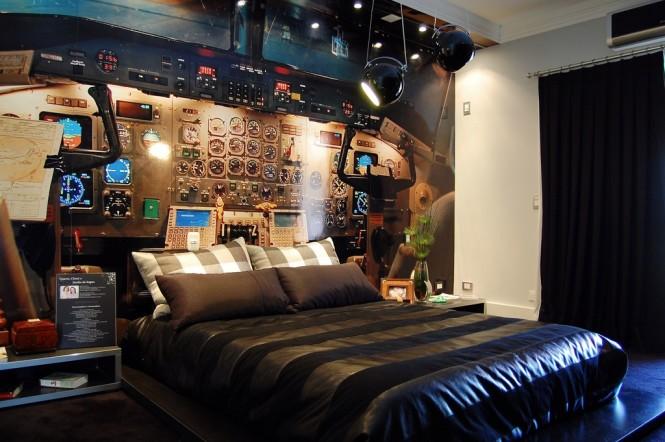 спалня за пилоти