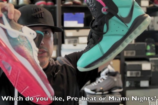 Video Review Nike LeBron 8 V2 8220Miami Nights8221 Limited Edition