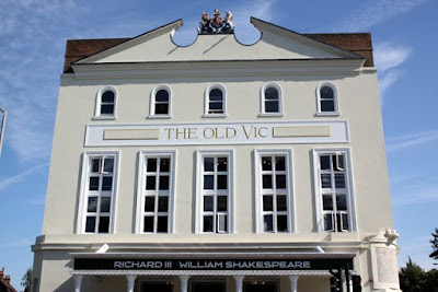 Facade of the Old Vic Theatre in London