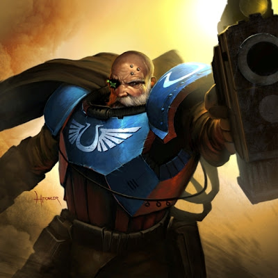 Ultramarines Sergeant Telion artwork