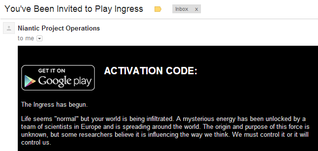 Ingres Activation Code Email