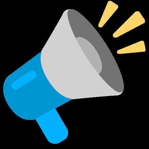 📢 Loudspeaker Emoji