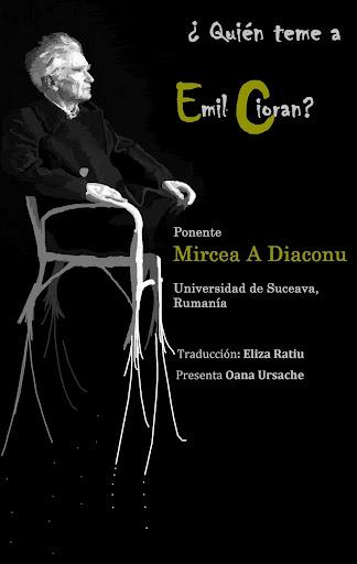 Cu universitarul Mircea A. Diaconu, Eminescu, Caragiale şi Cioran, în Granada