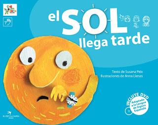 Colección CARAMBUCO / col·lecció GINJOLER (cuentos bilingües) Coberta_El+Sol+llega+tarda