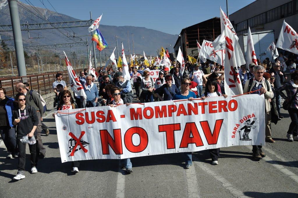 Luca Perino - Manifestazione Bussoleno - Susa, 25.02.2012