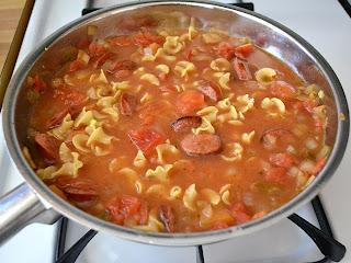 submerged pasta