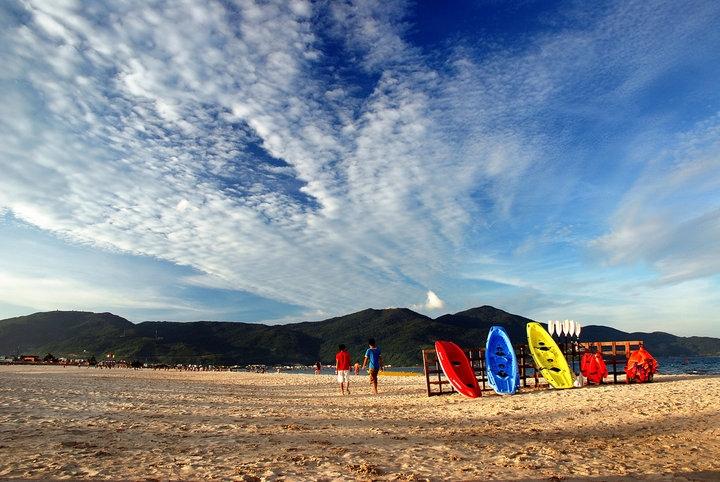 Vietnam attractive beach