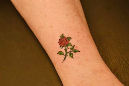 All The Sayings In The Category Small Rose Tattoos For Men On Hand
