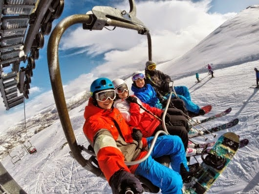 Take Your GoPro HERO Camera to the Ski Lifts! #GoProatBestBuy
