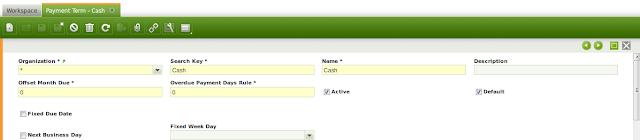 gambar termin pembayaran yang otomatis ada karena openbravo configuration data | wirabumisoftware.com