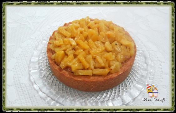 Torta de coco e abacaxi 1