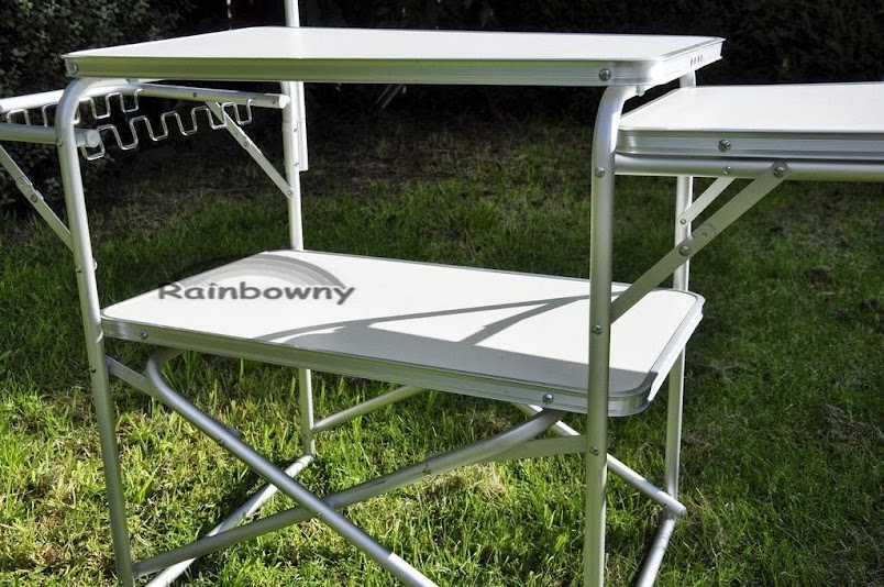 aluminium portable folding camping kitchen table - Camping Kitchen Tables