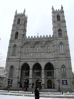 Montreal. Biserica Notre-Dame