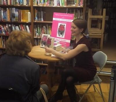 Emily St John Mandel signing Station Eleven
