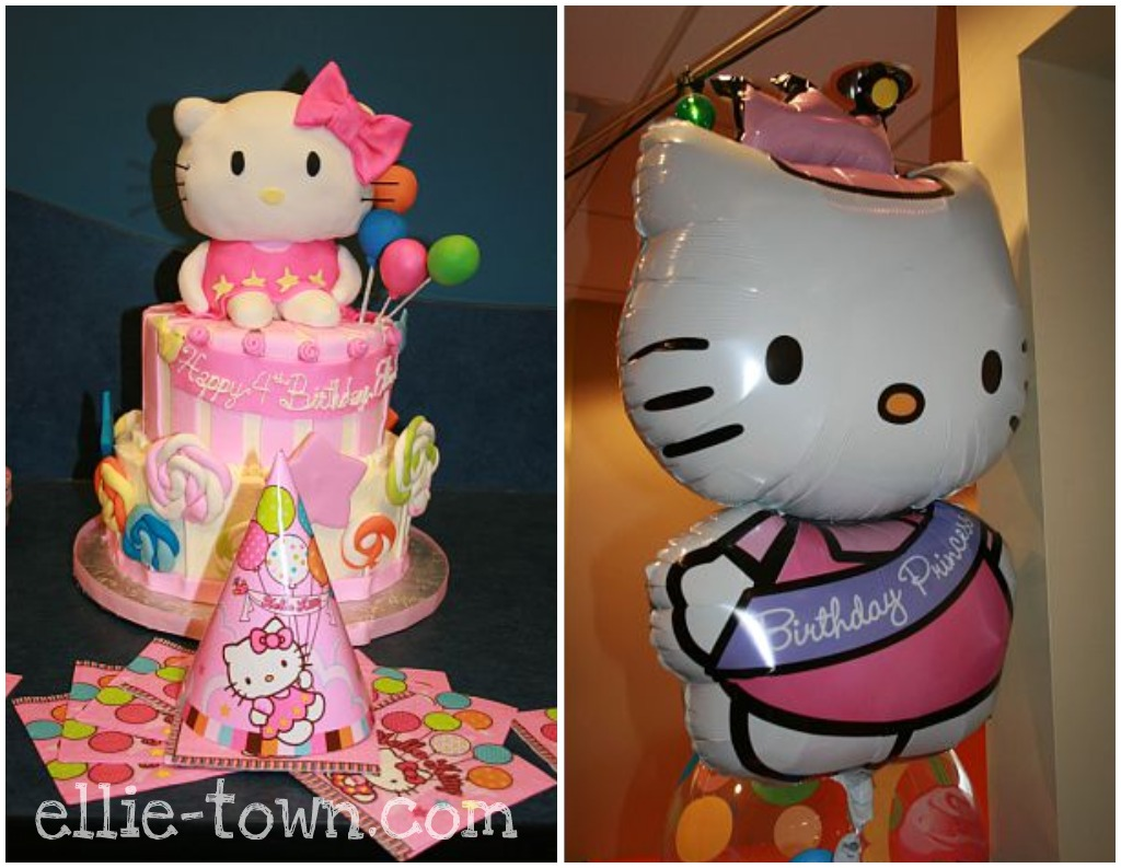 Hello Kitty Birthday Party hats, napkins, plates, noise makers, banner ...