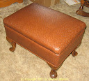 Walker footstool after