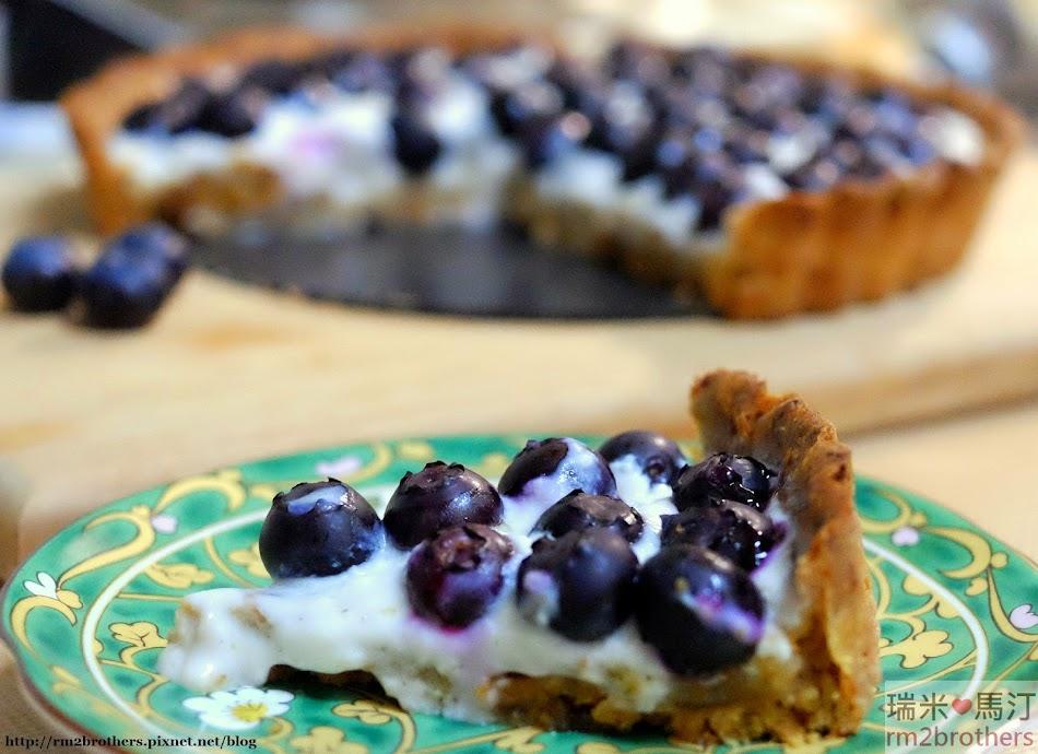 藍莓優格派