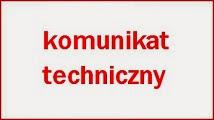 Komunikat Techniczny imprezy w Górznie