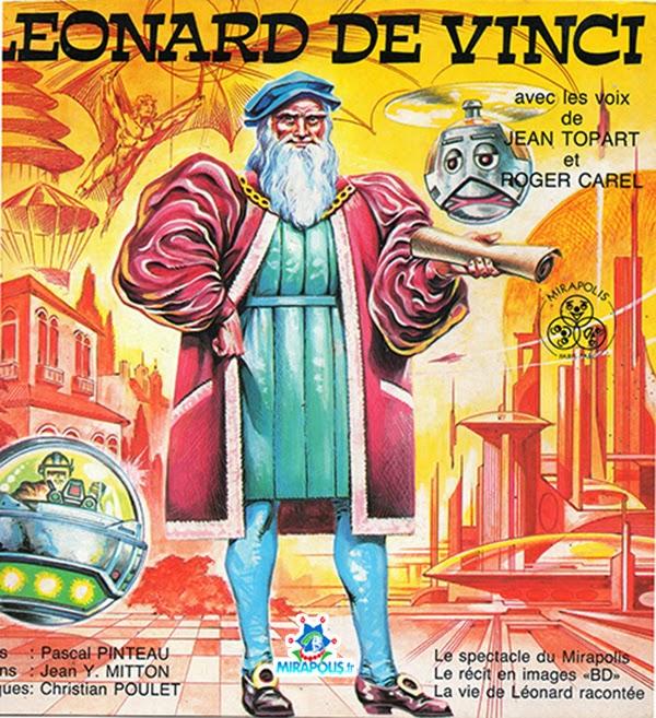 Couverture de la BD Leonard de Vinci vendue a Mirapolis