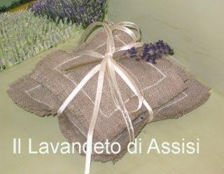 Cuscinetti in lino per bomboniera e regalo