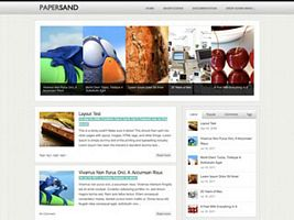 Papersand WordPress Theme