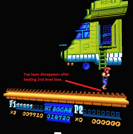Disappearing Sprites Layers Double Dragon Ii Support Itch Io
