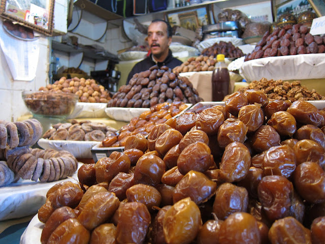 date seller in Fes, Morocco