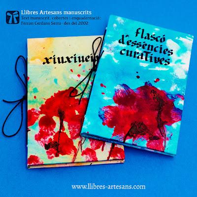 Llibres Artesans manuscrits - Ferran Cerdans