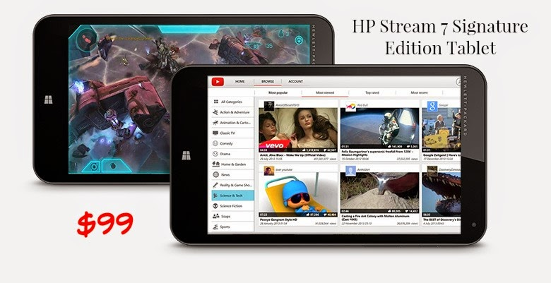 Black Friday Deals: HP Stream 7 Signature Edition Table Exclusively from Microsoft Stores