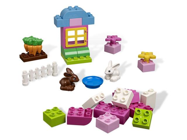 レゴ デュプロ 基本セットピンクのコンテナ 4623