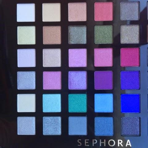 Sephora Makyaj paleti - Sephora Makeup Palette